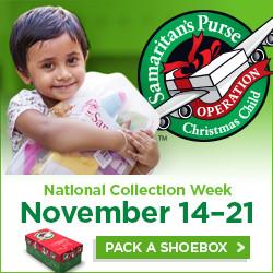 Operation Christmas Child Shoebox Packing @ Maple Church | Cape Girardeau | Missouri | United States
